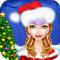 Игры новогодние Одевалки