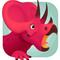 Игры динозавры Трицератопс