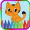 Игры кошки раскраски