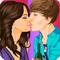 Игры Джастин бибер поцелуи