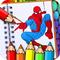 Игры человек паук раскраски