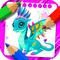Игры драконы раскраски