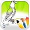Игры птицы раскраски